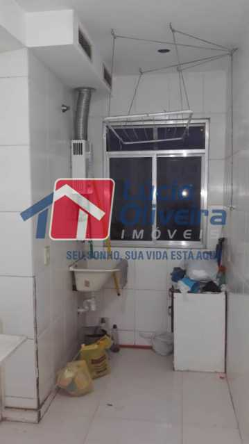 10-area serviço. - Apartamento à venda Rua Flora Rica,Engenho da Rainha, Rio de Janeiro - R$ 260.000 - VPAP30298 - 12