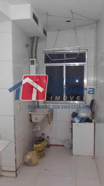 10-area serviço. - Apartamento à venda Rua Flora Rica,Engenho da Rainha, Rio de Janeiro - R$ 260.000 - VPAP30298 - 13