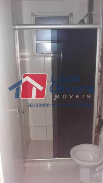 11-Banheiro social blindex. - Apartamento à venda Rua Flora Rica,Engenho da Rainha, Rio de Janeiro - R$ 260.000 - VPAP30298 - 14