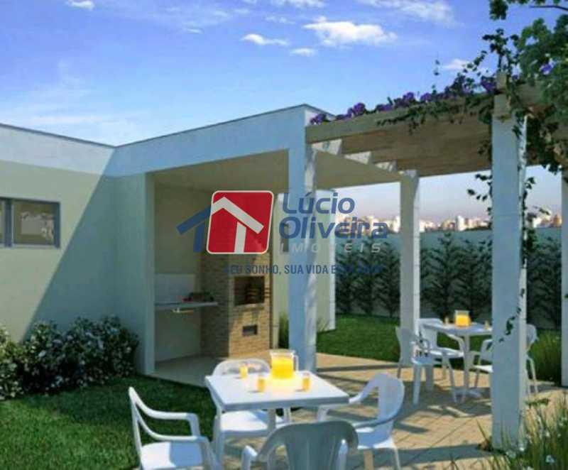 14-Espaço gourmet - Apartamento à venda Rua Flora Rica,Engenho da Rainha, Rio de Janeiro - R$ 260.000 - VPAP30298 - 17