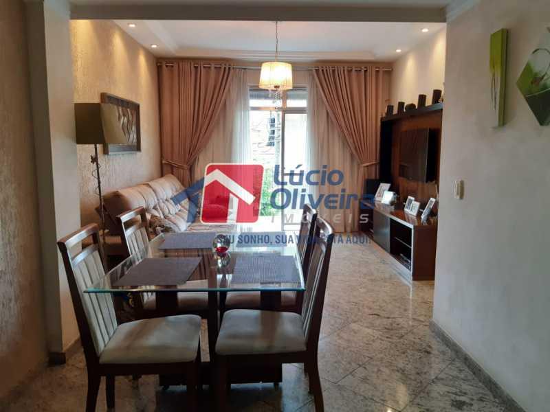 1 sala 2 - Apartamento à venda Rua Jucari,Irajá, Rio de Janeiro - R$ 330.000 - VPAP21259 - 1