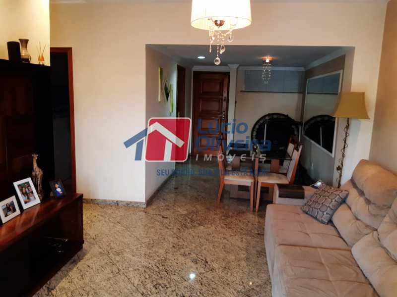 1 sala - Apartamento à venda Rua Jucari,Irajá, Rio de Janeiro - R$ 330.000 - VPAP21259 - 3
