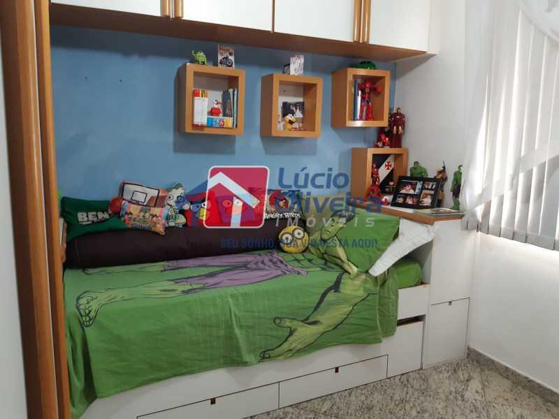 6 quarto 2 - Apartamento à venda Rua Jucari,Irajá, Rio de Janeiro - R$ 330.000 - VPAP21259 - 9