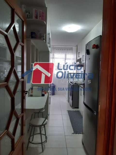 9 visão dos armarios da cozin - Apartamento à venda Rua Jucari,Irajá, Rio de Janeiro - R$ 330.000 - VPAP21259 - 14