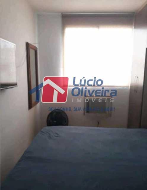 4-Quarto casal.. - Apartamento à venda Estrada João Paulo,Honório Gurgel, Rio de Janeiro - R$ 145.000 - VPAP21263 - 6