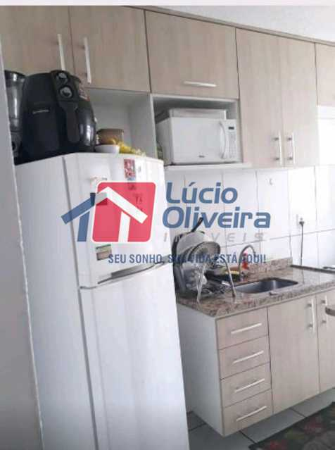 10-Cozinha planejada - Apartamento à venda Estrada João Paulo,Honório Gurgel, Rio de Janeiro - R$ 145.000 - VPAP21263 - 12