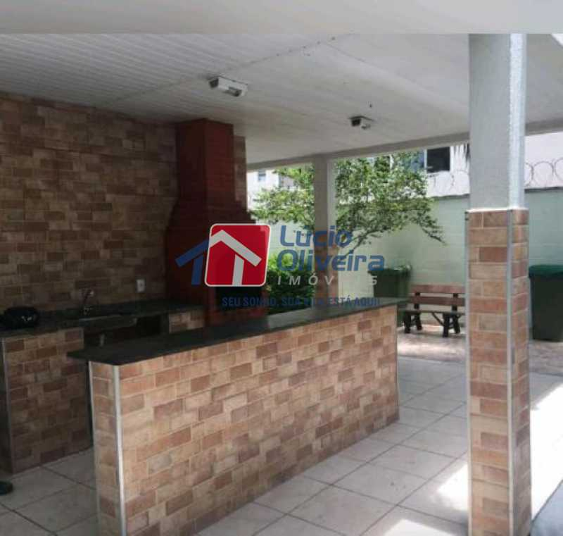 16-Churrasqueira - Apartamento à venda Estrada João Paulo,Honório Gurgel, Rio de Janeiro - R$ 145.000 - VPAP21263 - 18