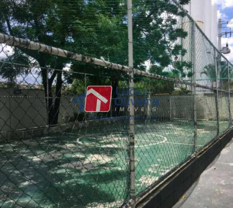 23-Quadra de esportes - Apartamento à venda Estrada João Paulo,Honório Gurgel, Rio de Janeiro - R$ 145.000 - VPAP21263 - 26