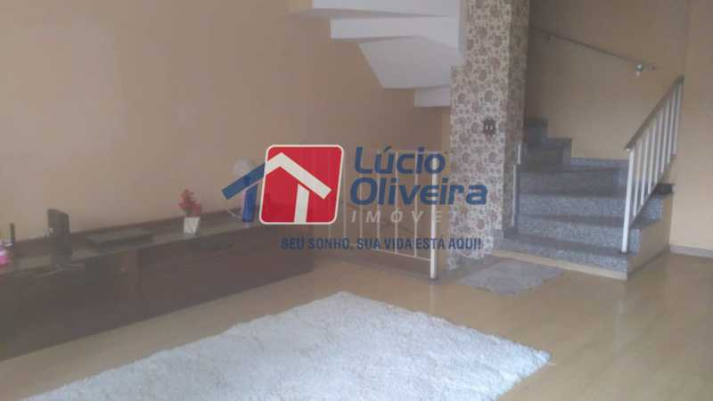 1 Sala - Casa de Vila à venda Rua Apia,Vila da Penha, Rio de Janeiro - R$ 580.000 - VPCV40001 - 1