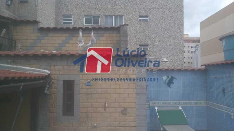 12 Terraço - Casa de Vila à venda Rua Apia,Vila da Penha, Rio de Janeiro - R$ 580.000 - VPCV40001 - 13