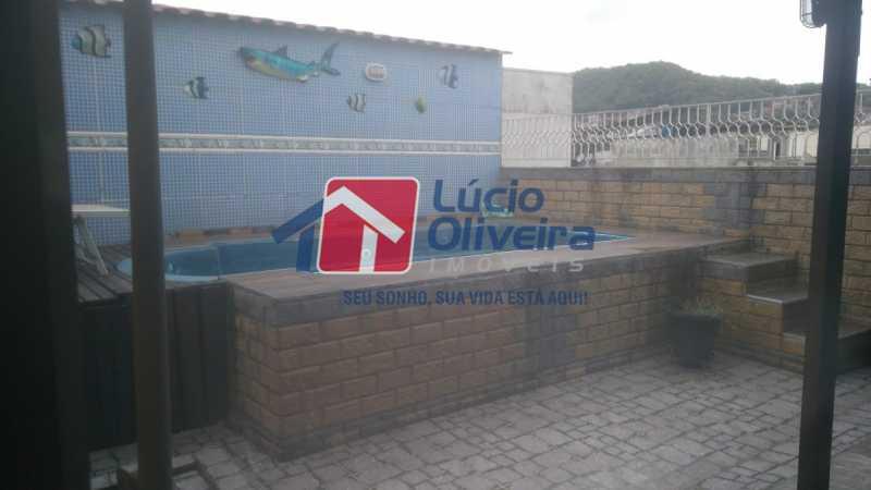 13 piscina - Casa de Vila à venda Rua Apia,Vila da Penha, Rio de Janeiro - R$ 580.000 - VPCV40001 - 14