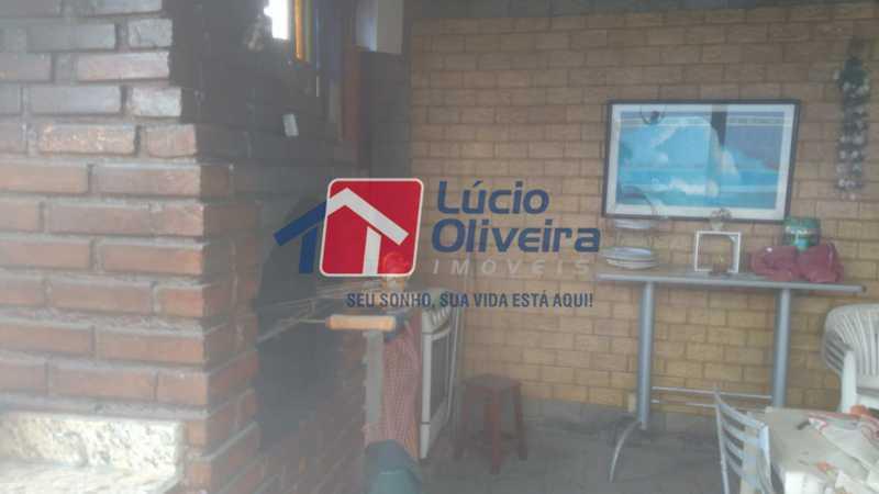 13.2 Currasqueira - Casa de Vila à venda Rua Apia,Vila da Penha, Rio de Janeiro - R$ 580.000 - VPCV40001 - 16