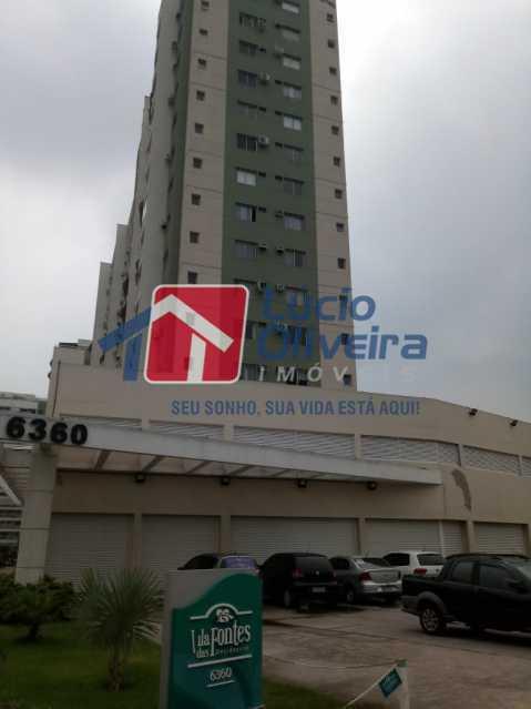 2 fachada. - Apartamento Rua Bernardo Taveira,Vicente de Carvalho, Rio de Janeiro, RJ À Venda, 2 Quartos, 60m² - VPAP21265 - 3