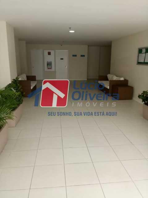 3 hall de entrada. - Apartamento Rua Bernardo Taveira,Vicente de Carvalho, Rio de Janeiro, RJ À Venda, 2 Quartos, 60m² - VPAP21265 - 4