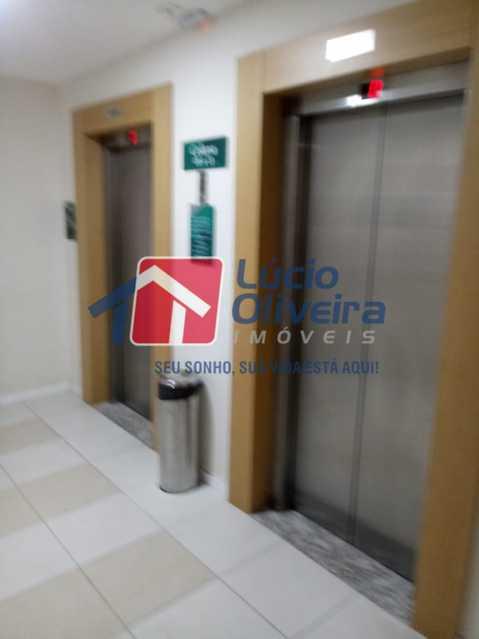 4 elevador. - Apartamento Rua Bernardo Taveira,Vicente de Carvalho, Rio de Janeiro, RJ À Venda, 2 Quartos, 60m² - VPAP21265 - 5
