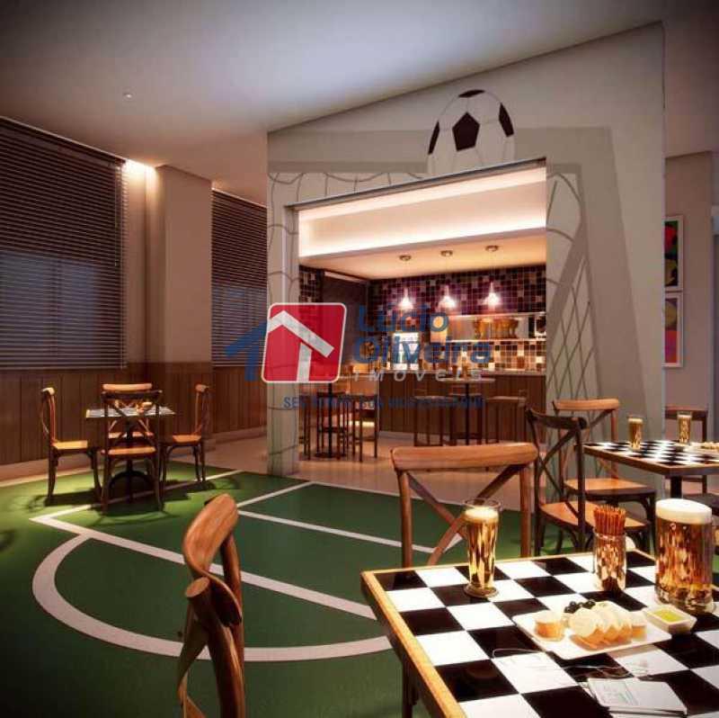 7 sala de jogos - Apartamento Rua Bernardo Taveira,Vicente de Carvalho, Rio de Janeiro, RJ À Venda, 2 Quartos, 60m² - VPAP21265 - 9