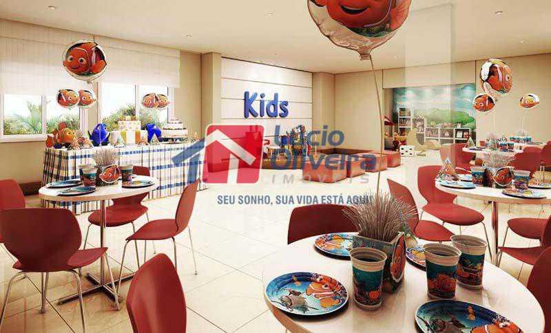 9 salao de festas infantil - Apartamento Rua Bernardo Taveira,Vicente de Carvalho, Rio de Janeiro, RJ À Venda, 2 Quartos, 60m² - VPAP21265 - 11