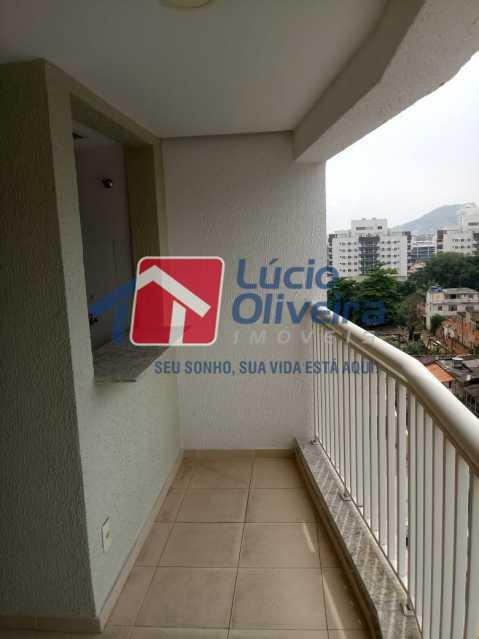 17 varanda. - Apartamento Rua Bernardo Taveira,Vicente de Carvalho, Rio de Janeiro, RJ À Venda, 2 Quartos, 60m² - VPAP21265 - 20