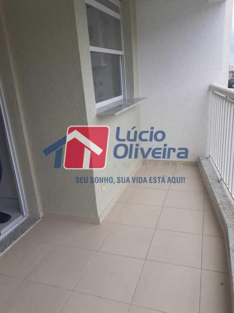 18 varanda - Apartamento Rua Bernardo Taveira,Vicente de Carvalho, Rio de Janeiro, RJ À Venda, 2 Quartos, 60m² - VPAP21265 - 21