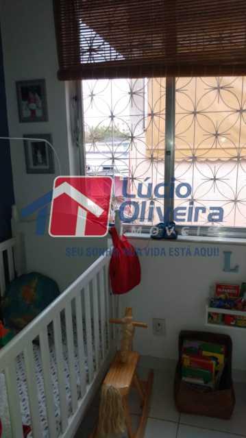 8- Quarto - Apartamento à venda Rua Angélica Mota,Olaria, Rio de Janeiro - R$ 265.000 - VPAP21266 - 9