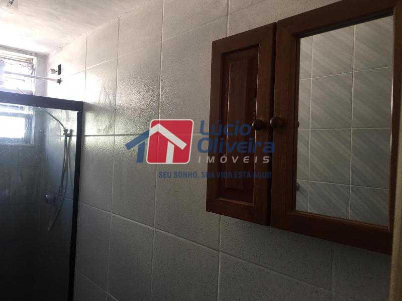 12-Banheiro social. - Apartamento à venda Estrada Adhemar Bebiano,Engenho da Rainha, Rio de Janeiro - R$ 170.000 - VPAP30300 - 13