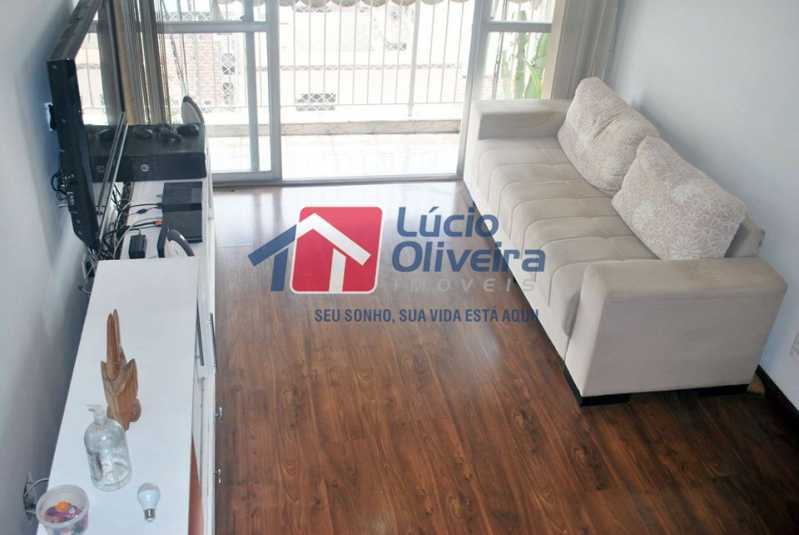 2-Sala ambiente e varanda - Apartamento Avenida Vicente de Carvalho,Vila da Penha,Rio de Janeiro,RJ À Venda,2 Quartos,66m² - VPAP21272 - 3