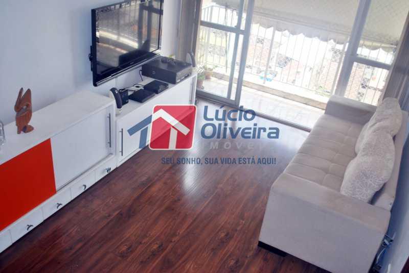 3-Sala e varanda - Apartamento Avenida Vicente de Carvalho,Vila da Penha,Rio de Janeiro,RJ À Venda,2 Quartos,66m² - VPAP21272 - 4