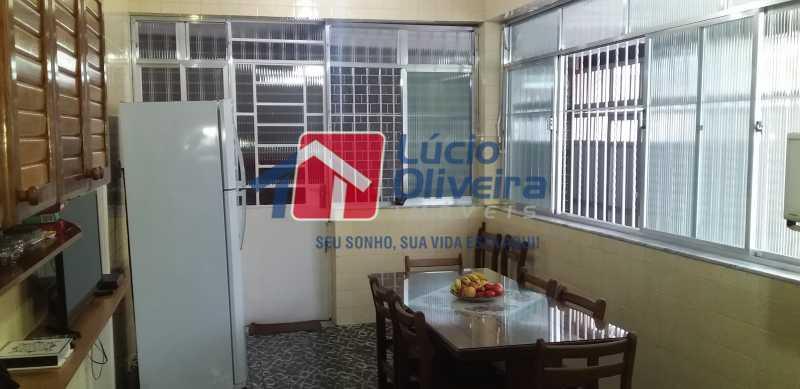 14 - Cozinha - Casa Vila da Penha, Rio de Janeiro, RJ À Venda, 3 Quartos, 132m² - VPCA30172 - 15
