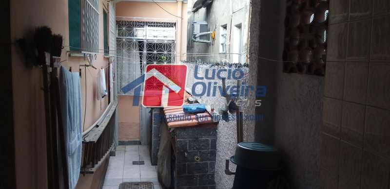 23 - Área - Casa Vila da Penha, Rio de Janeiro, RJ À Venda, 3 Quartos, 132m² - VPCA30172 - 24