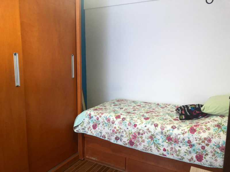Quarto solteiro - Apartamento à venda Estrada Padre Roser,Vila da Penha, Rio de Janeiro - R$ 280.000 - VPAP21273 - 11