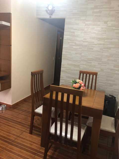 Sala Jantar - Apartamento à venda Estrada Padre Roser,Vila da Penha, Rio de Janeiro - R$ 280.000 - VPAP21273 - 1