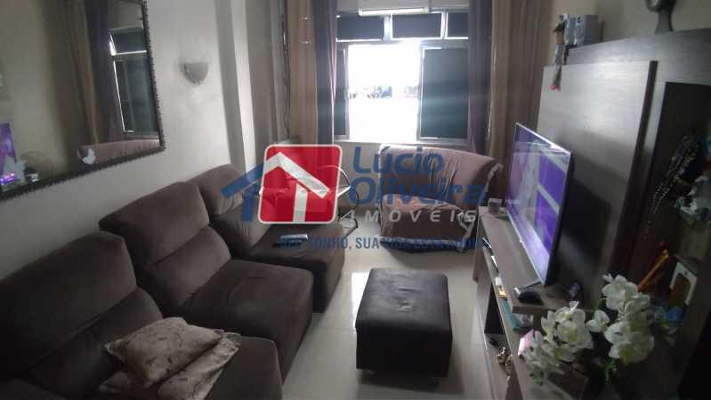 01- Sala - Apartamento à venda Rua Professor Plínio Bastos,Olaria, Rio de Janeiro - R$ 420.000 - VPAP30303 - 1