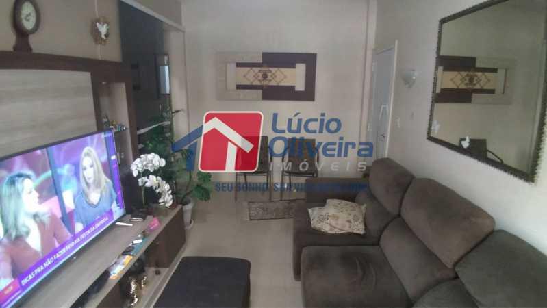 02- Sala - Apartamento à venda Rua Professor Plínio Bastos,Olaria, Rio de Janeiro - R$ 420.000 - VPAP30303 - 3