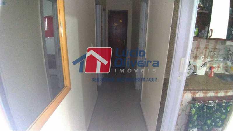 04- Circulação - Apartamento à venda Rua Professor Plínio Bastos,Olaria, Rio de Janeiro - R$ 420.000 - VPAP30303 - 5