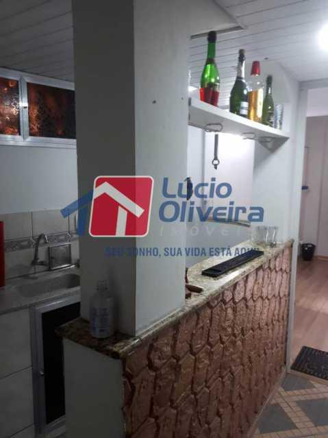 2a cozinha - Casa à venda Rua Diana,Vila da Penha, Rio de Janeiro - R$ 695.000 - VPCA50026 - 3
