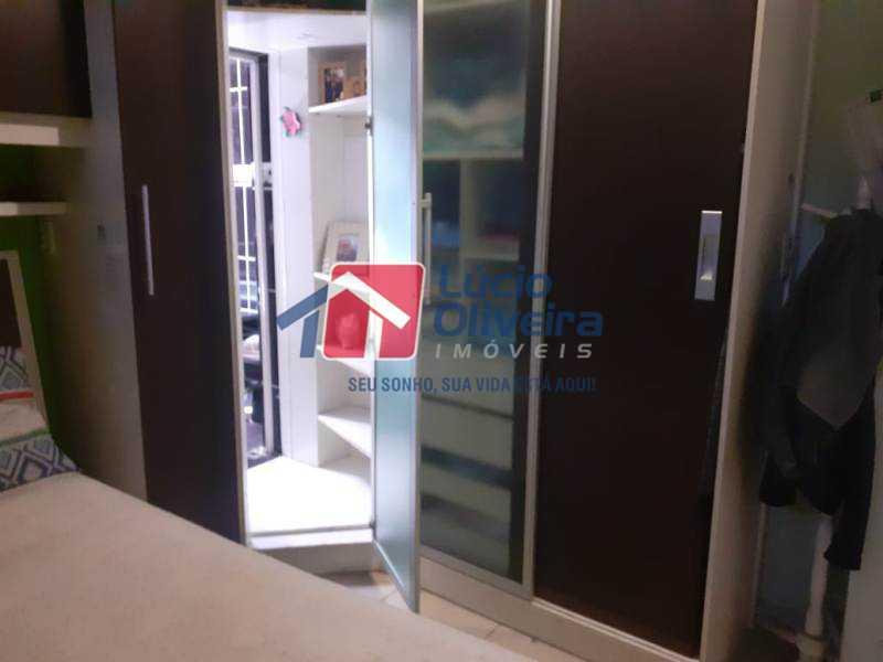 5-Quarto armario entrada suite - Casa à venda Rua Diana,Vila da Penha, Rio de Janeiro - R$ 695.000 - VPCA50026 - 6
