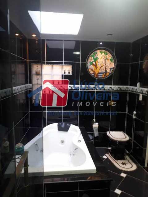 14-Banheiro suite hidromassage - Casa à venda Rua Diana,Vila da Penha, Rio de Janeiro - R$ 695.000 - VPCA50026 - 15