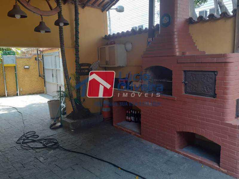 18-Churrasqueira e quintal - Casa à venda Rua Diana,Vila da Penha, Rio de Janeiro - R$ 695.000 - VPCA50026 - 19