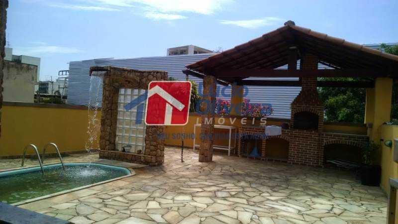 18-Piscina e Area gourmet - Casa à venda Rua Diana,Vila da Penha, Rio de Janeiro - R$ 695.000 - VPCA50026 - 20