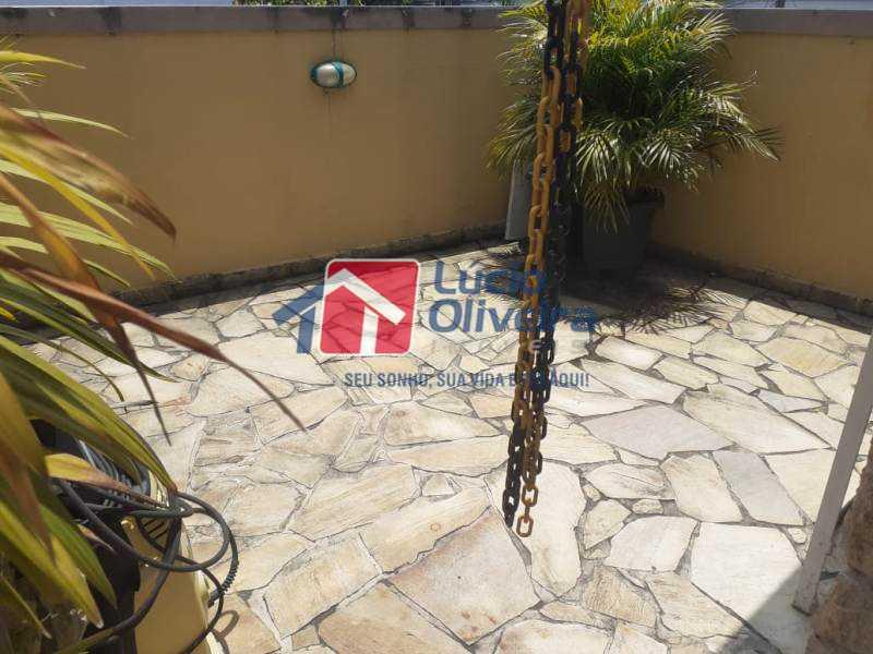 19-Terraço piscina - Casa à venda Rua Diana,Vila da Penha, Rio de Janeiro - R$ 695.000 - VPCA50026 - 22