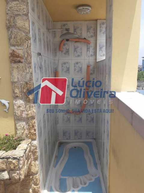 20-Chuveirão piscina - Casa à venda Rua Diana,Vila da Penha, Rio de Janeiro - R$ 695.000 - VPCA50026 - 23