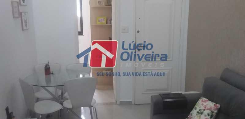 03 - Sala - Apartamento à venda Rua General Otávio Povoa,Vila da Penha, Rio de Janeiro - R$ 320.000 - VPAP21280 - 4