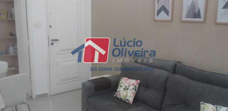 04 - Sala - Apartamento à venda Rua General Otávio Povoa,Vila da Penha, Rio de Janeiro - R$ 320.000 - VPAP21280 - 5