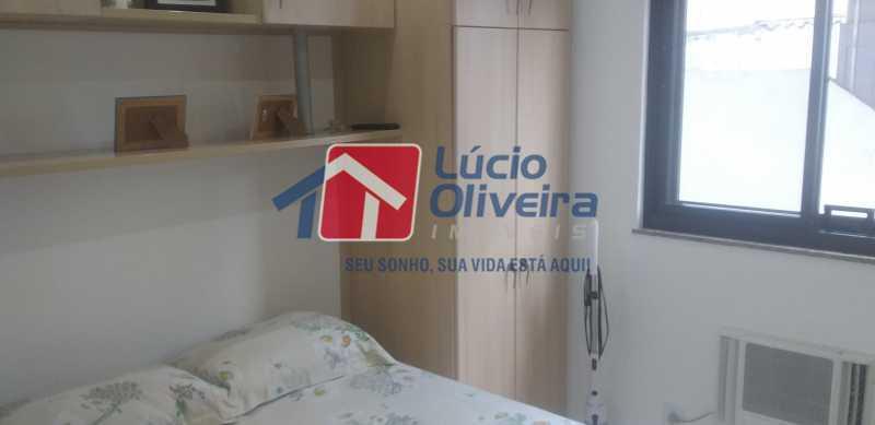 07 - Quarto Casal - Apartamento à venda Rua General Otávio Povoa,Vila da Penha, Rio de Janeiro - R$ 320.000 - VPAP21280 - 8