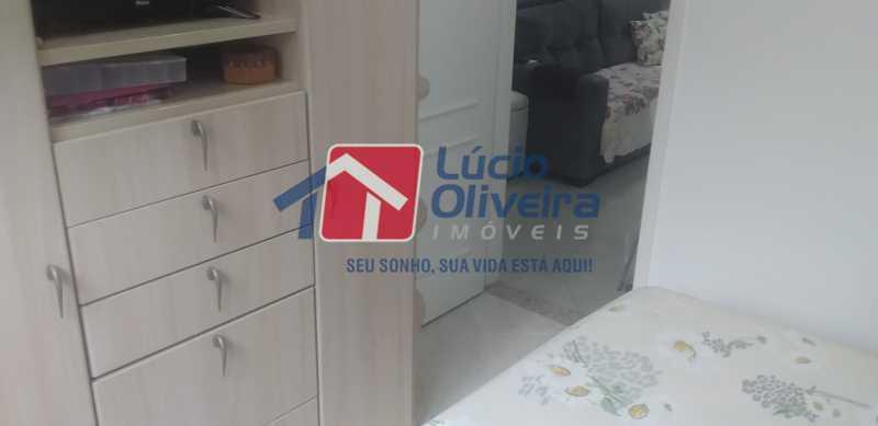08 - Quarto Casal - Apartamento à venda Rua General Otávio Povoa,Vila da Penha, Rio de Janeiro - R$ 320.000 - VPAP21280 - 9