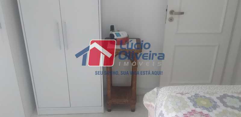 13 - Quarto Solteiro - Apartamento à venda Rua General Otávio Povoa,Vila da Penha, Rio de Janeiro - R$ 320.000 - VPAP21280 - 14