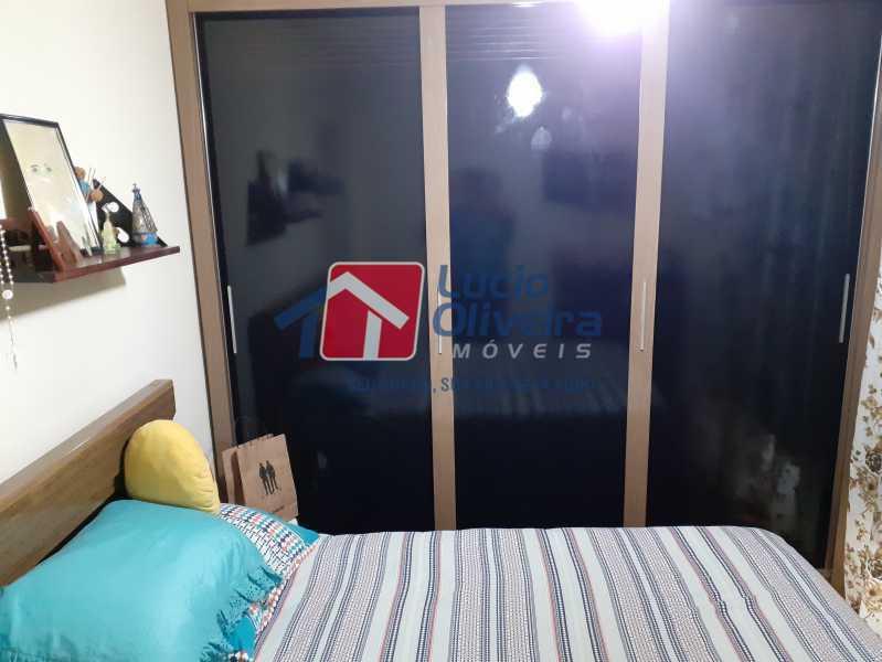 09- Quarto C. - Apartamento à venda Rua Soldado Ivo de Oliveira,Vila Kosmos, Rio de Janeiro - R$ 150.000 - VPAP21287 - 10