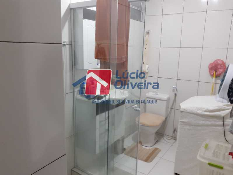 10- Banheiro - Apartamento à venda Rua Soldado Ivo de Oliveira,Vila Kosmos, Rio de Janeiro - R$ 150.000 - VPAP21287 - 11