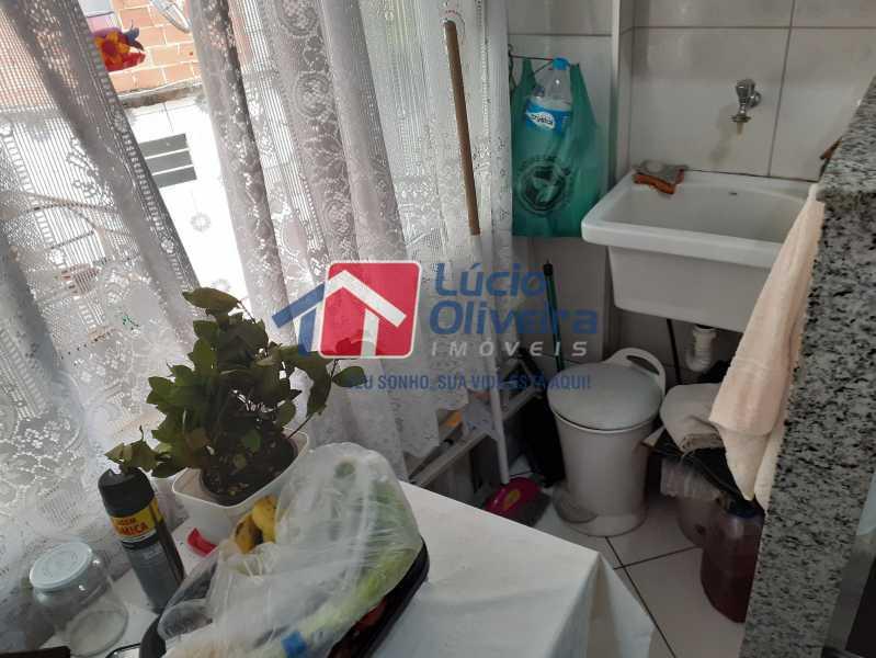 15- Area - Apartamento à venda Rua Soldado Ivo de Oliveira,Vila Kosmos, Rio de Janeiro - R$ 150.000 - VPAP21287 - 16