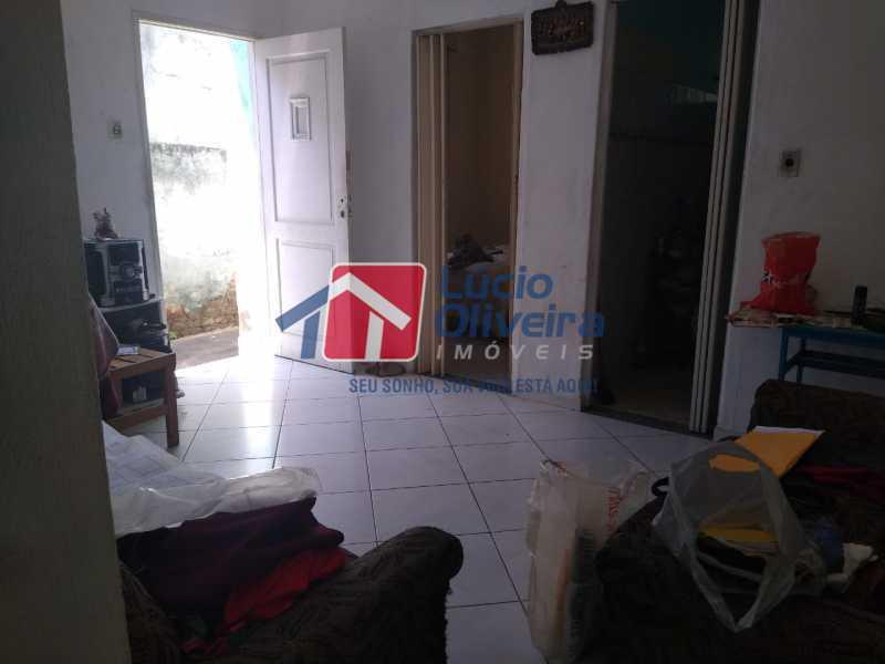 2-sala frente. - Casa à venda Rua Delfina Enes,Penha, Rio de Janeiro - R$ 320.000 - VPCA30177 - 3